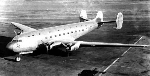Рисунок 1. Посадка загадочного самолёта